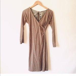 ✨Patagonia faux wrap dress size S